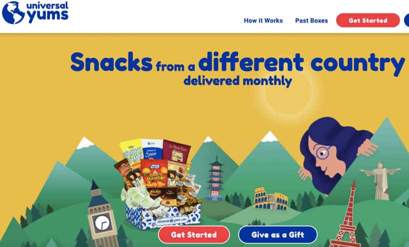 Universal Yums Website by Authentic Food Quest for Universal Yums review