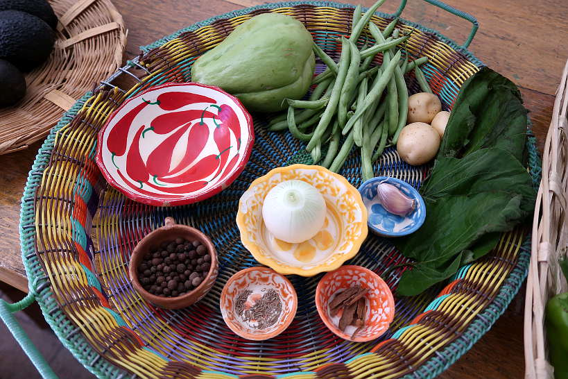 Ingredients for Cooking Classes in Oaxaca by Authentic Food Quest