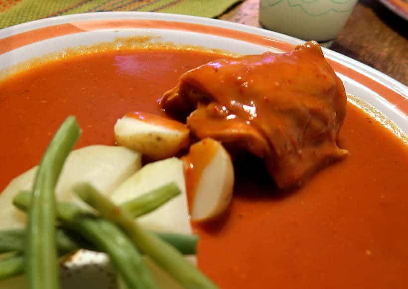 Mole amarillo at La Cocina Oaxaquena by Authentic Food Quest