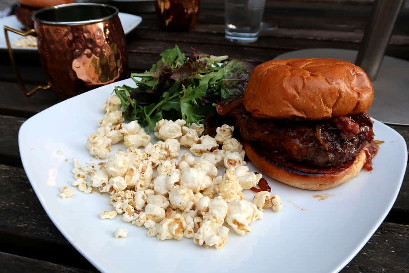 Truffle Wagyu Beef Burger for Truffle Shuffle SF Cooking Class by Authentic Food Quest