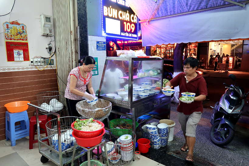 Bun Cha Ca 1019 Best Place to Eat in Danang by AuthenticFoodQuest
