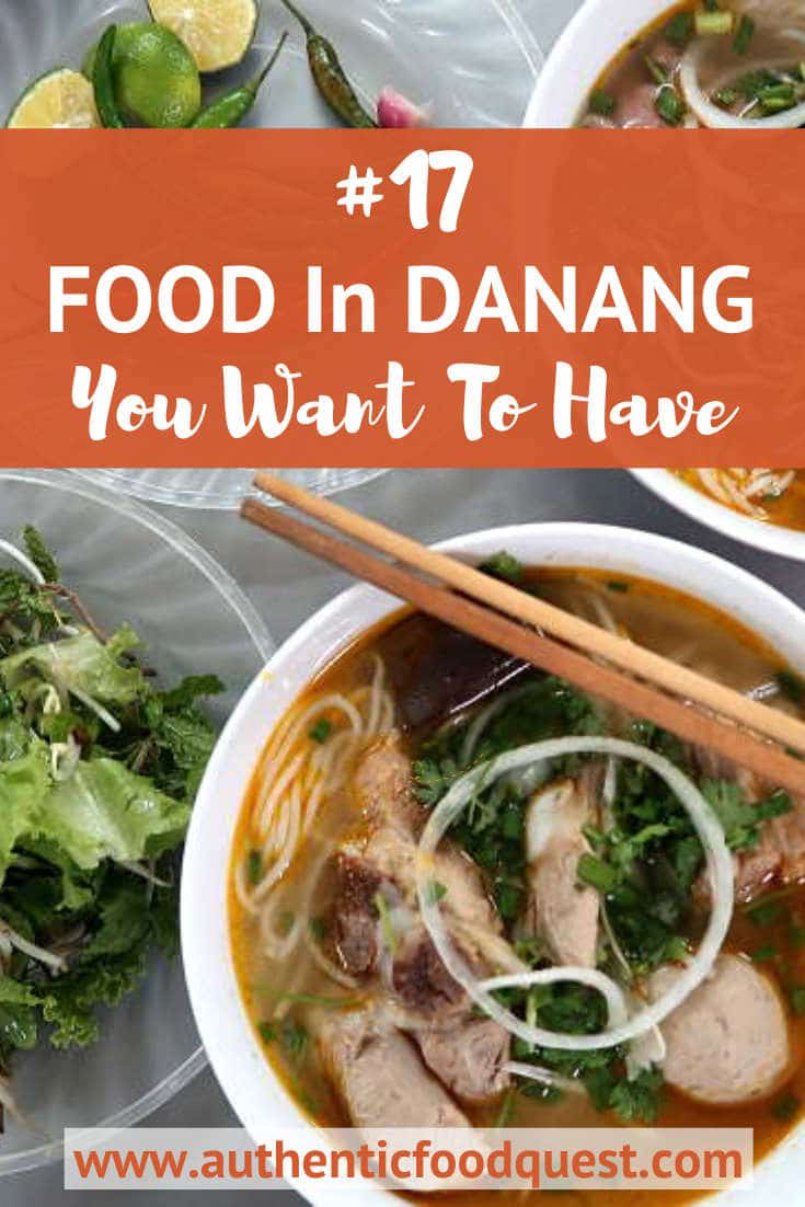 Top Authentic Food in Danang by AuthenticFoodQuest