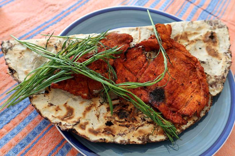 Tlayudas Oaxaca Mexico by Authentic Food Quest for Tlayudas Recipe