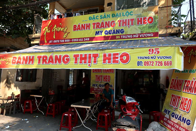 Where To Eat Banh Trang Cuon Thit Heo a Da Nang Food by AuthenticFoodQuest