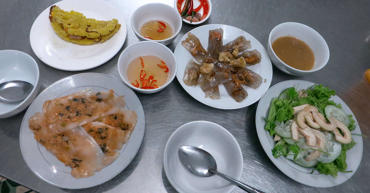 Plates of Hue Food by AuthenticFoodQuest