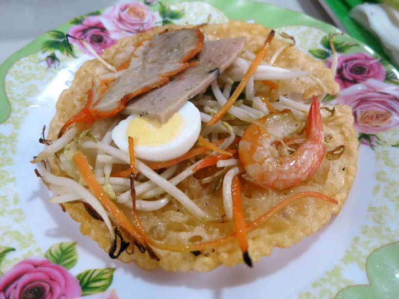 Banh Khoai Hue Crispy Rice Pancake by Authentic Food Quest for Hue Cuisine