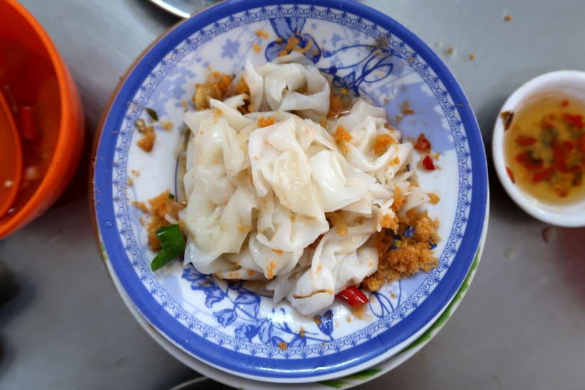 Banh Uot Steamed Rice Rolls Stuffed with Grilled Pork by Authentic Food Quest