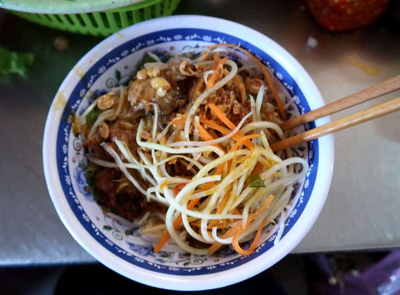 Bun Thit Nuong Hue Style Grilled Pork and Rice Noodles by Authentic Food Quest