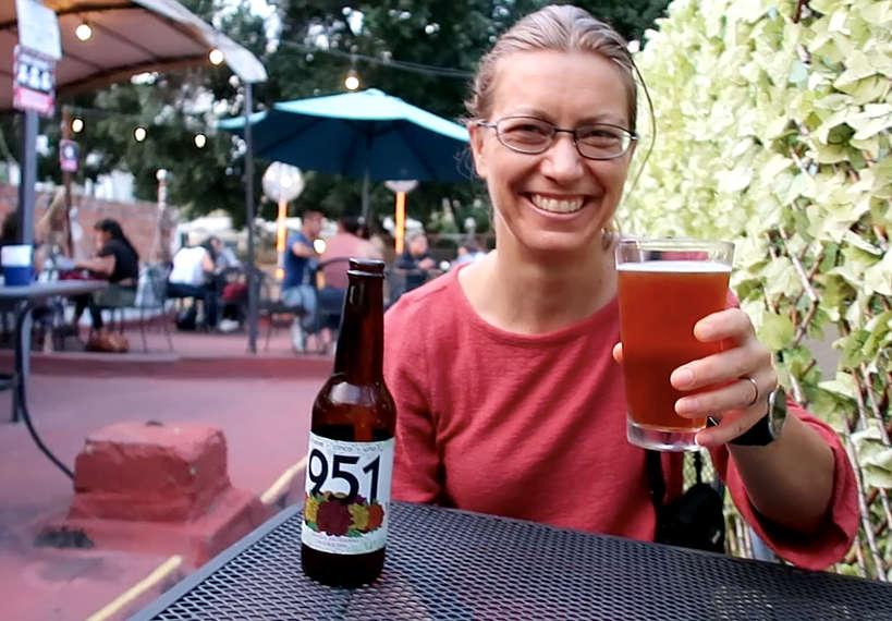 Claire at La Mezcalerita Oaxaca Bar by Authentic Food Quest