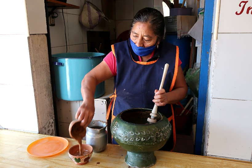 Comedor Mary at Mercado La Merced in Oaxaca by Authentic Food Quest