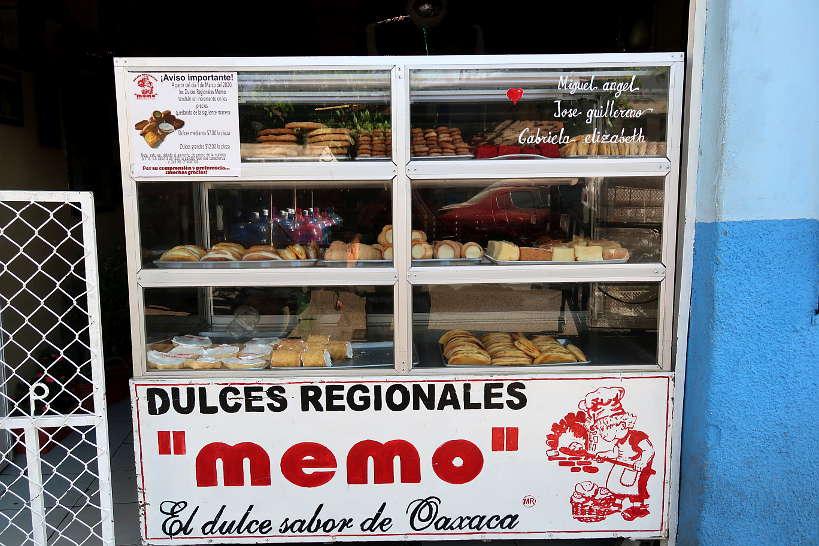Dulce de memo Oaxaca bakery by Authentic Food Quest