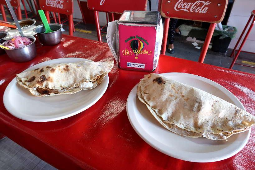 Empanadas Flor de Calabaza for Oaxaca food by Authentic Food Quest