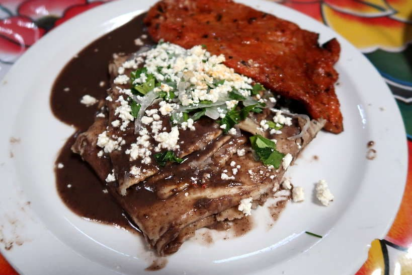 Enfrijoladas an Oaxaca foods by Authentic Food Quest