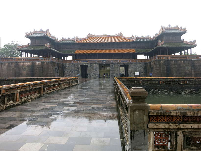 Entrance Imperial City of Hue by Authentic Food Quest