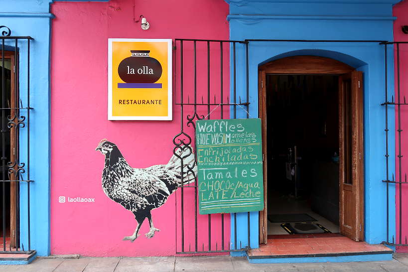 La Olla restaurant for Oaxaca restaurants by Authentic Food Quest