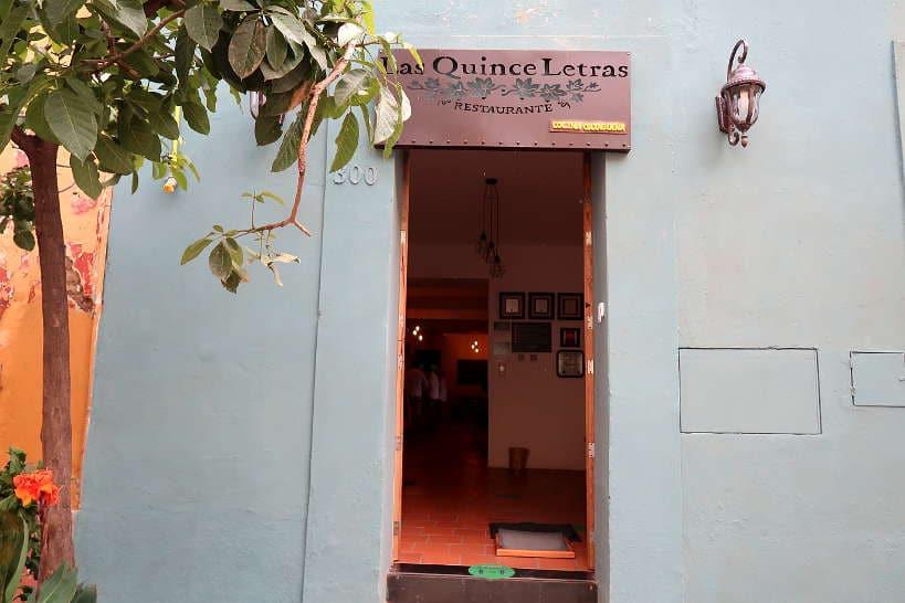 Las Quince Letras an Oaxaca Restaurant by Authentic Food Quest