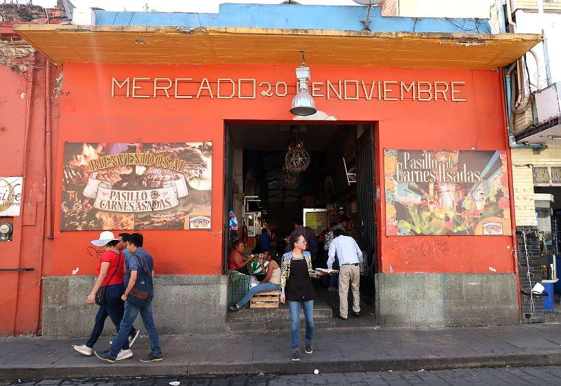 Mercado20 de Noviembre an Oaxaca market by Authentic Food Quest