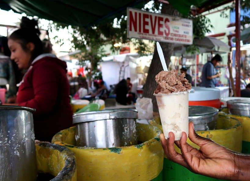 Nieves leche quemada Oaxaca ice cream by Authentic Food Quest