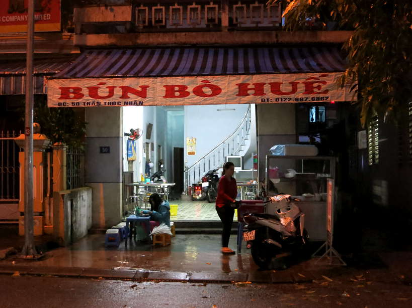 Quan 50 Bun Bo Hue for Best Restaurants in Hue by Authentic Food Quest