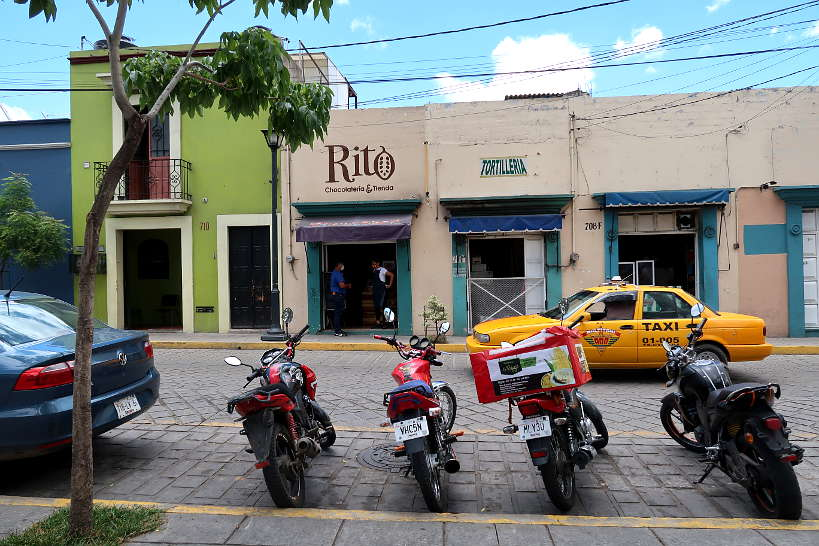 Rito Chocolate store  in Oaxaca Mexico by AuthenticFoodQuest
