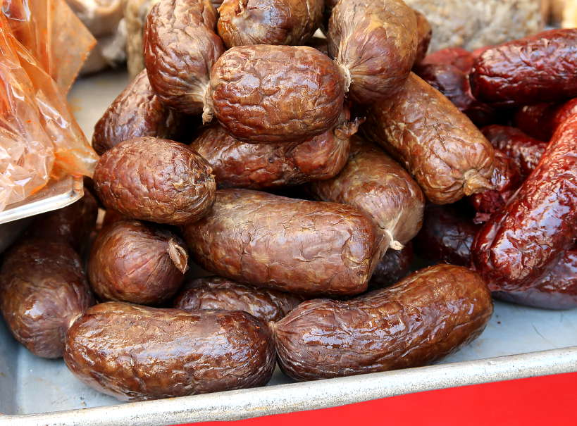 Salchicha Ejuteca for Food in Oaxaca by Authentic Food Quest