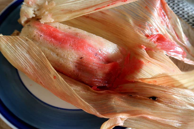 Tamales dulce Oaxaca food by Authentic Food Quest