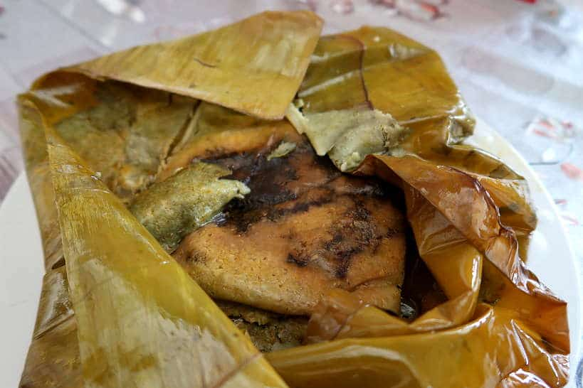 Tamales Oaxaquena for Food in Oaxaca by Authentic Food Quest