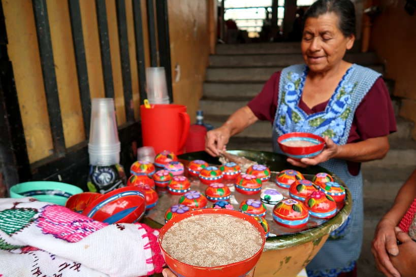 Tejate Oaxaca Drinks by Authentic Food Quest