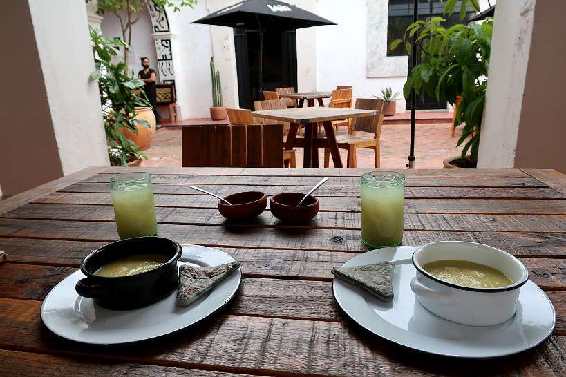 Tetelas at Baltazar Oaxaca Restaurants by Authentic Food Quest