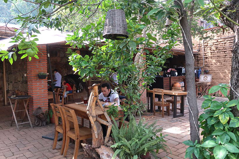 Ancestral Outdoor Seating for Oaxaca Restaurants by Authentic Food Quest