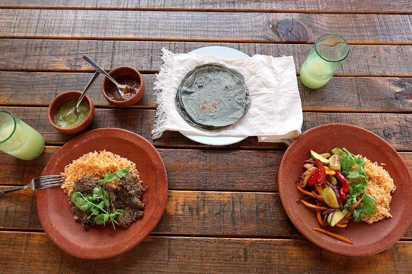 Baltazar lunch meal in Oaxaca by Authentic Food Quest