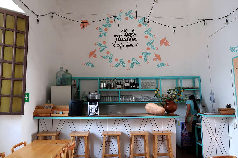 Casa Taviche one of the best restaurants in Oaxaca by Authentic Food Quest