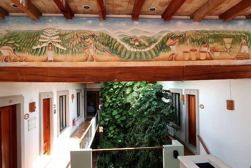 Casa Vertiz Hotel in Oaxaca Mexico by Authentic Food Quest