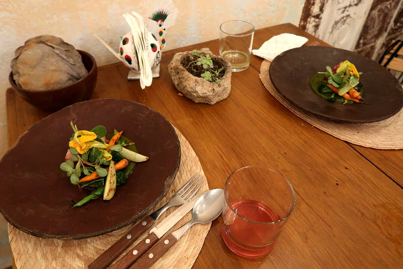 Dinner at Teocintle Restaurant for Oaxaca Restaurant in Oaxaca by Authentic Food Quest