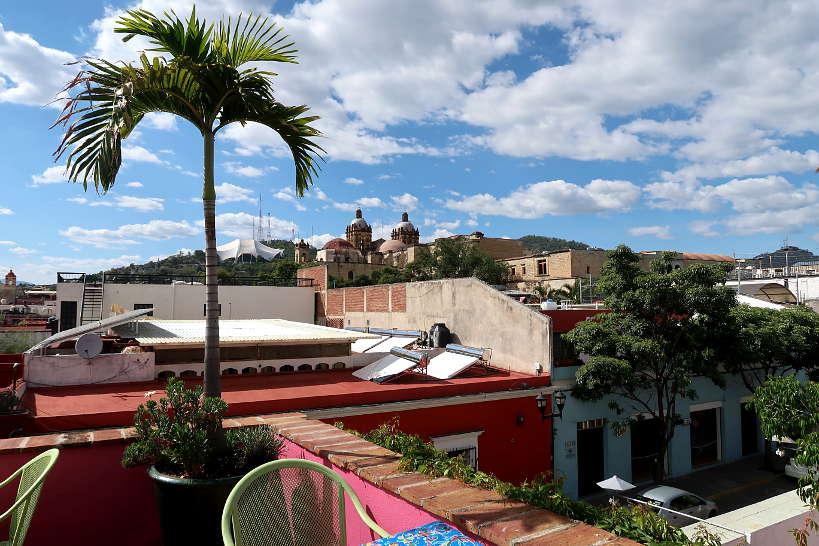 La Olla rooftop in Oaxaca by Authentic Food Quest