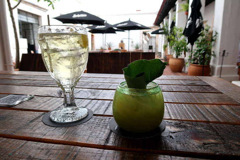 Mezcal cocktails at Baltazar in Oaxaca by Authentic Food Quest