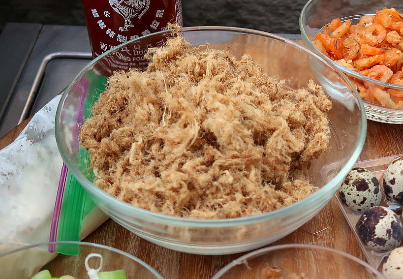 Pork Floss for Vietnamese Pizza by AuthenticFoodQuest