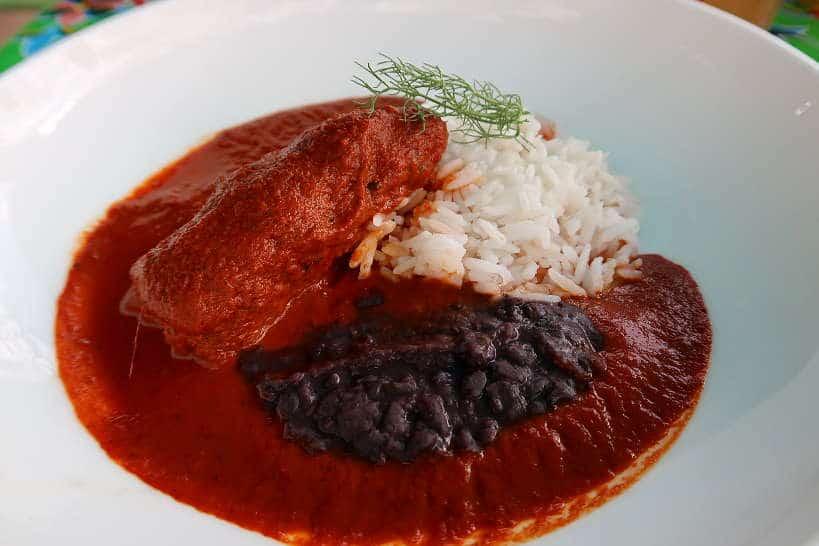 Rollo de Barbacoa at La Olla Restaurant in Oaxaca by Authentic Food Quest
