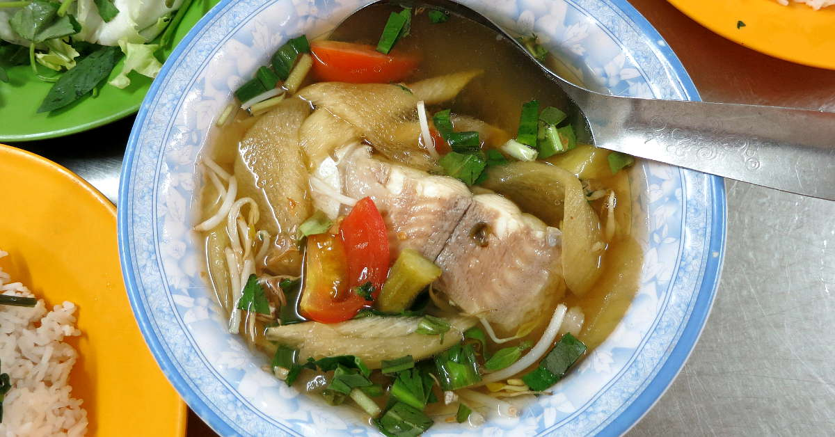 1200 Fish Soup Food in Saigon by Authentic Food Quest