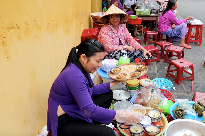 Banh Beo Ba Bay street food in Hoi An by Authentic Food Quest