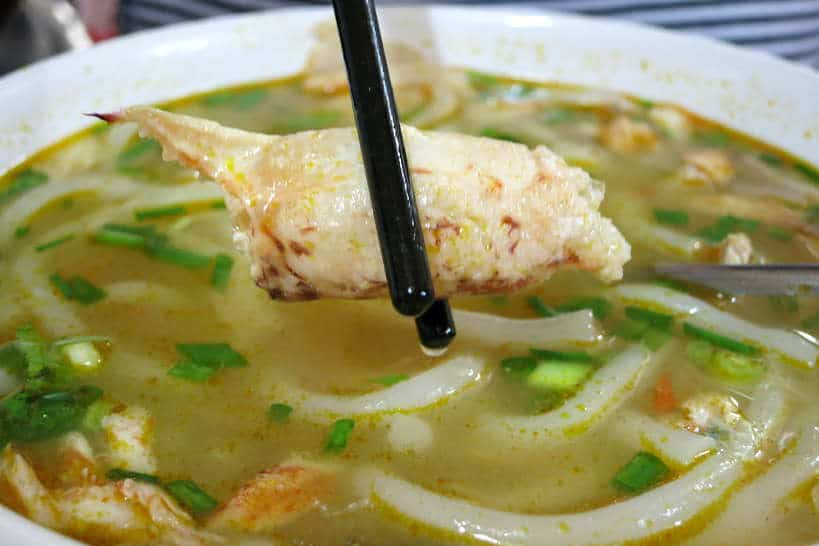 Banh Canh Cua Crab Noodle Soup Mekong Delta food by Authentic food Quest