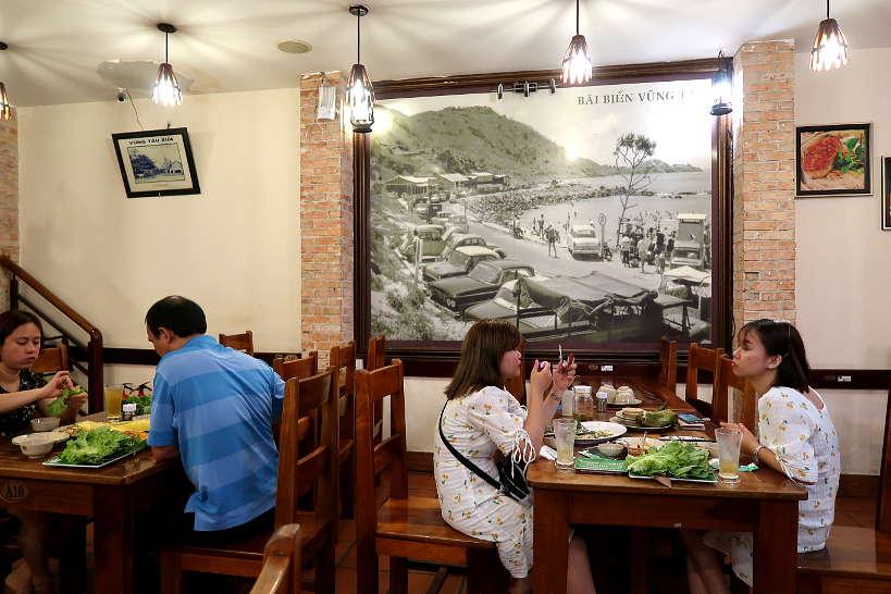 Banh Khot Co Ba Vung Tau restaurant in Saigon by AuthenticFoodQuest