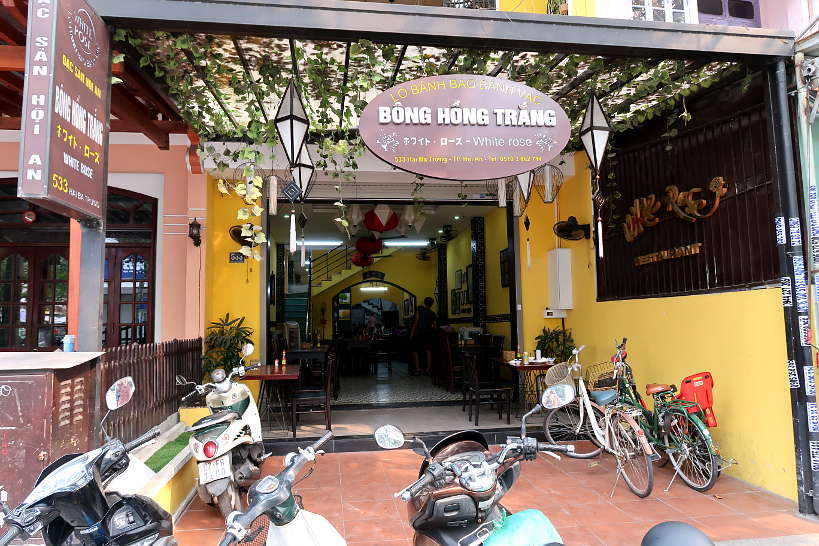 Bong Hong Trang White Rose restaurant Hoi An by authentic Food Quest