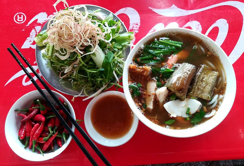 Bum Mam Fermented Fish Noodle a specialty Food in Saigon by AuthenticFoodQuest