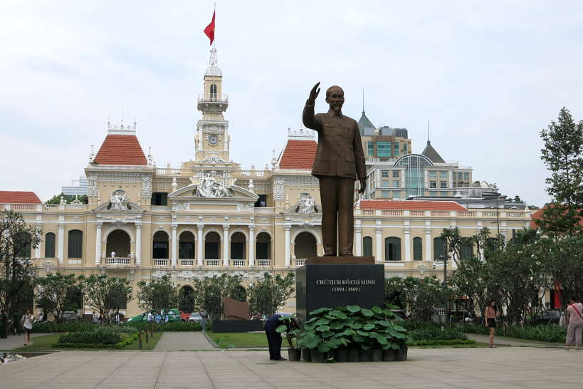 City Hall Ho Chi Minh City food in Saigon by Authentic Food Quest