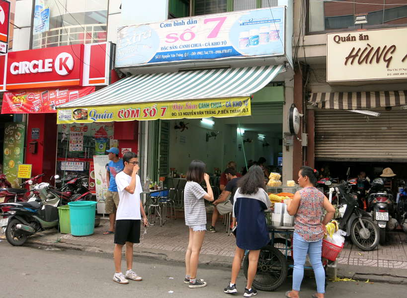 Com So 7 one of the Best Restaurants in Saigon for fish by AuthenticFoodQuest