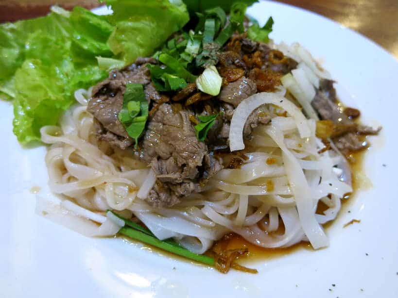 Dry Hu Tieu Food in Saigon by Authentic Food Quest