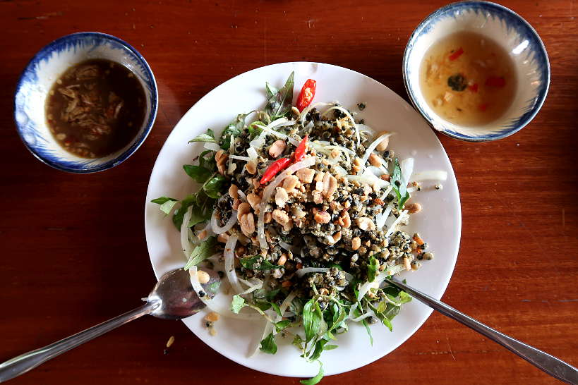 Hen Tron Best Food in Hoi An by Authentic Food Quest