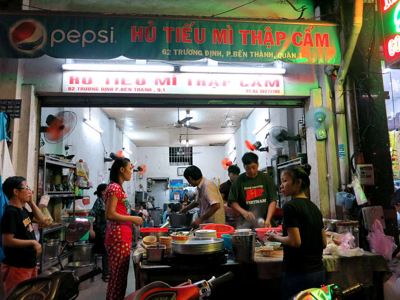 Hu Tieu Mi Thap Cam one of the Best Restaurants in Saigon by AuthenticFoodQuest