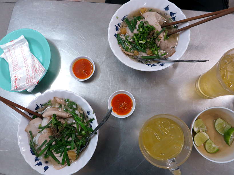 Hu Tieu food in Saigon by Authentic Food Quest